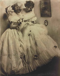 the letter (gerson sisters) by gertrude kasebier