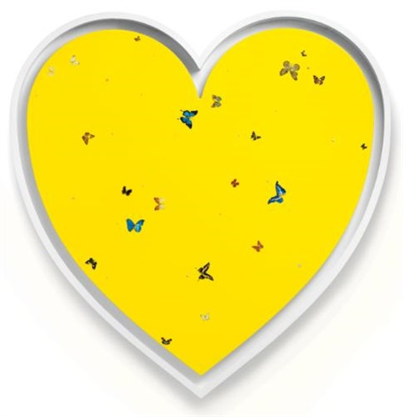 in love by damien hirst