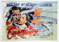 a love in casablanca by mimmo rotella