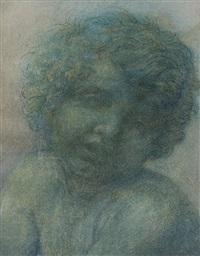 cupidon (study) by alphonse legros