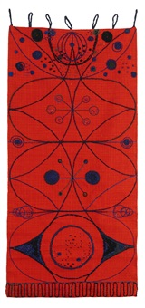 tarantella väggtextil by marianne von münchow