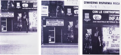 low and slow (set of 60) by christopher wool
