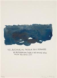 untitled (yes, but, alas...) by raymond pettibon