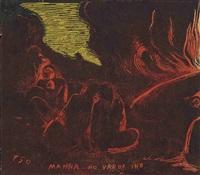 mahna no varua ino (the devil speaks) by paul gauguin
