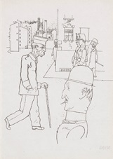 arbeitslose by george grosz