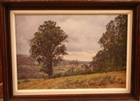 paysages (3 works) by william baptiste baird