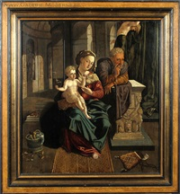 la sainte famille by flemish school (16)