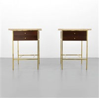 nightstands/end tables, pair by paul mccobb