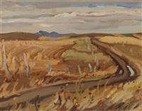 porcupine hills, pincher, alberta by alexander young