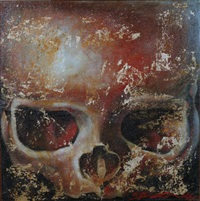 crâne de bouddha n°1 by ma tse lin