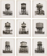 watertowers (in 9 parts) by bernd and hilla becher