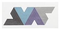 empress of india (from v series) by frank stella