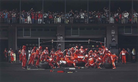 ferrari i by andreas gursky