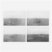 floating cities (4 works) by charles simonds
