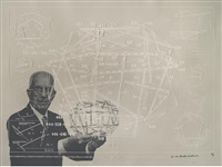inventions: twelve around one (portfolio of 13 w/title and text) by buckminster fuller