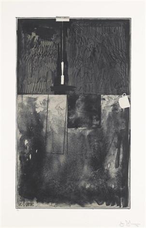 zone, black state by jasper johns