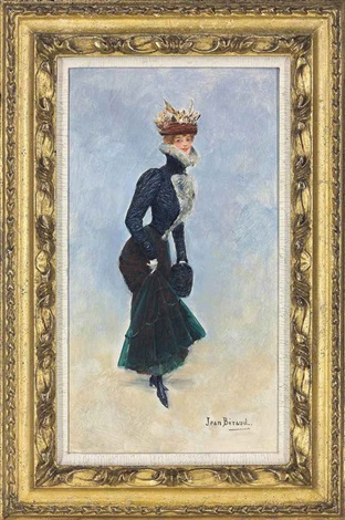 a parisian beauty by jean béraud