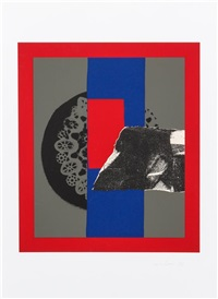 untitled (collage) by louise nevelson