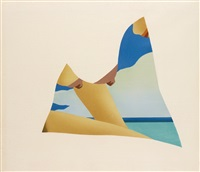 seascape dropout by tom wesselmann