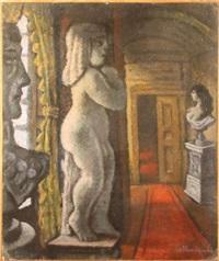 les statues dans le couloir by enrico alimandi
