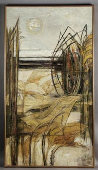 view through the reeds by john scorror o'connor