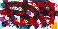 ohne titel (composition) by sam francis
