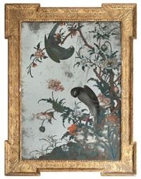 perroquets et de fleurs by anonymous-british (18)