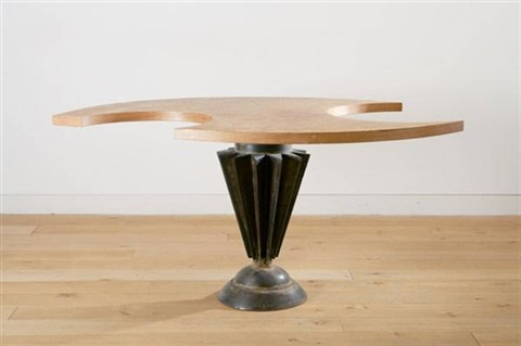 cut out cog table by tom dixon