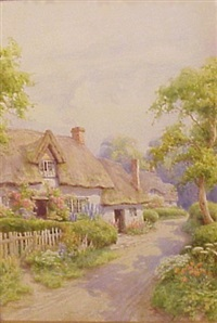 country cottage by maud hollyer