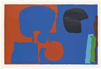 plate iv from: winchester four by patrick heron