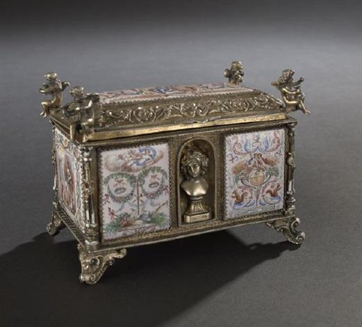 table box by pier giacomo ilario bonacolsi antico
