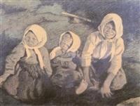 barn by firs sergeyevich zhuravlev