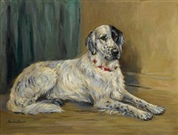 an english setter by marion rodger hamilton harvey