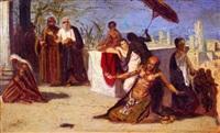 biblical scene by isaac ashknazii