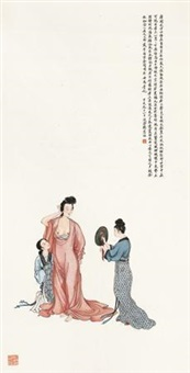贵妃妆镜图 by liu lingcang