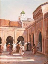 cour de mosquée à fez by mohamed krich
