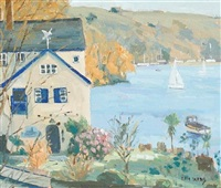 daphne du maurier's house, on the helford by eric ward