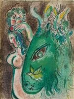 drawings for the bible (24 works) by marc chagall