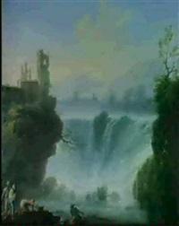 veduta di tivoli by gregorio fidanza