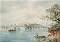 san vicente de la barquera, santander (illustrated) and untitled (pair) by raphael monleon y torres