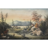 jaune r., quebec by alfred worsley holdstock