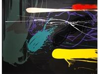vertical dusk - horizontal dawn (2 works) by bruce mclean