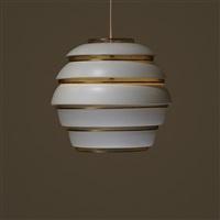 beehive ceiling lamp, model a331 by alvar aalto