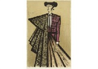 escamillo (costume violet) by bernard buffet