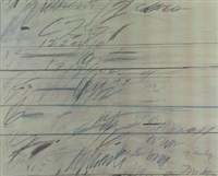 senza titolo by cy twombly