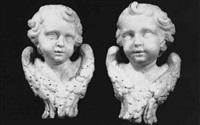 head of a cherub by giuseppe sanmartino