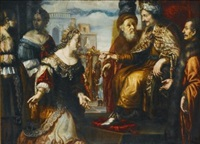 esther before ahasuerus by jan victors