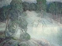 trolskt kustlandskap by axel zachrison