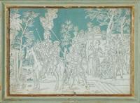 scenette di genere (10 works) by italian school-piedmont (19)