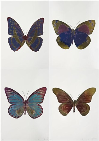 the souls i iv 4 works by damien hirst